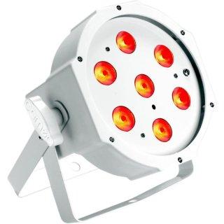 Cameo FLAT PAR CAN TRI 3W IR WH - 7 x 3 W TRI Colour Scheinwerfer WH