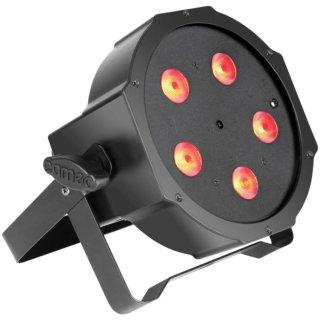 Cameo FLAT PAR CAN TRI - 5 x 3 W High Power TRI Colour Scheinwerfer BK