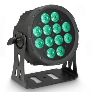 Cameo FLAT PRO 12 - 12 x 10 W FLAT LED RGBWA PAR Scheinwerfer BK