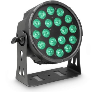 Cameo FLAT PRO 18 - 18 x 10 W FLAT LED RGBWA PAR Scheinwerfer BK