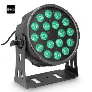 Cameo FLAT PRO 18 IP65 - 18 x 10 W FLAT LED RGBWA PAR Scheinwerfer BK